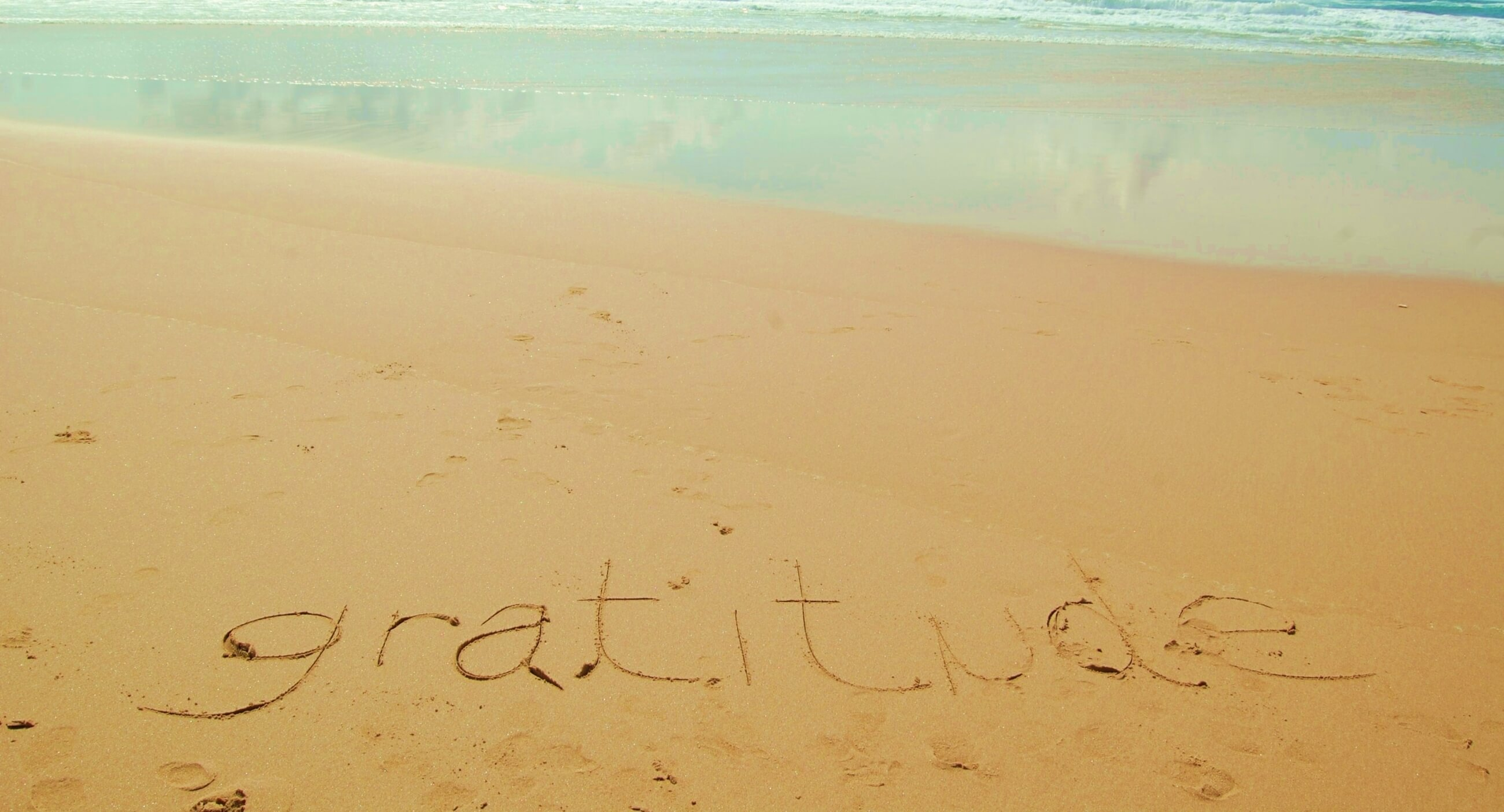 Gratitude equals Happiness